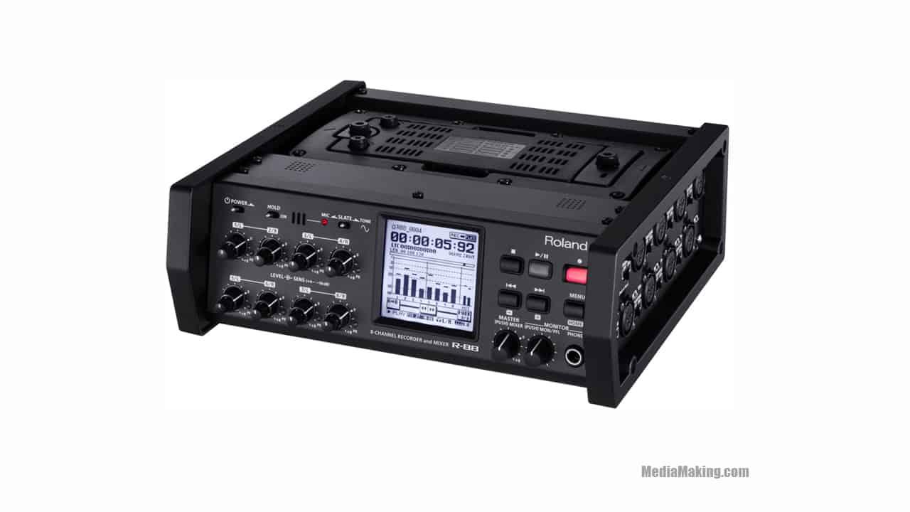 noleggio registratori audio, Multitrack audio recorders, MediaMaking
