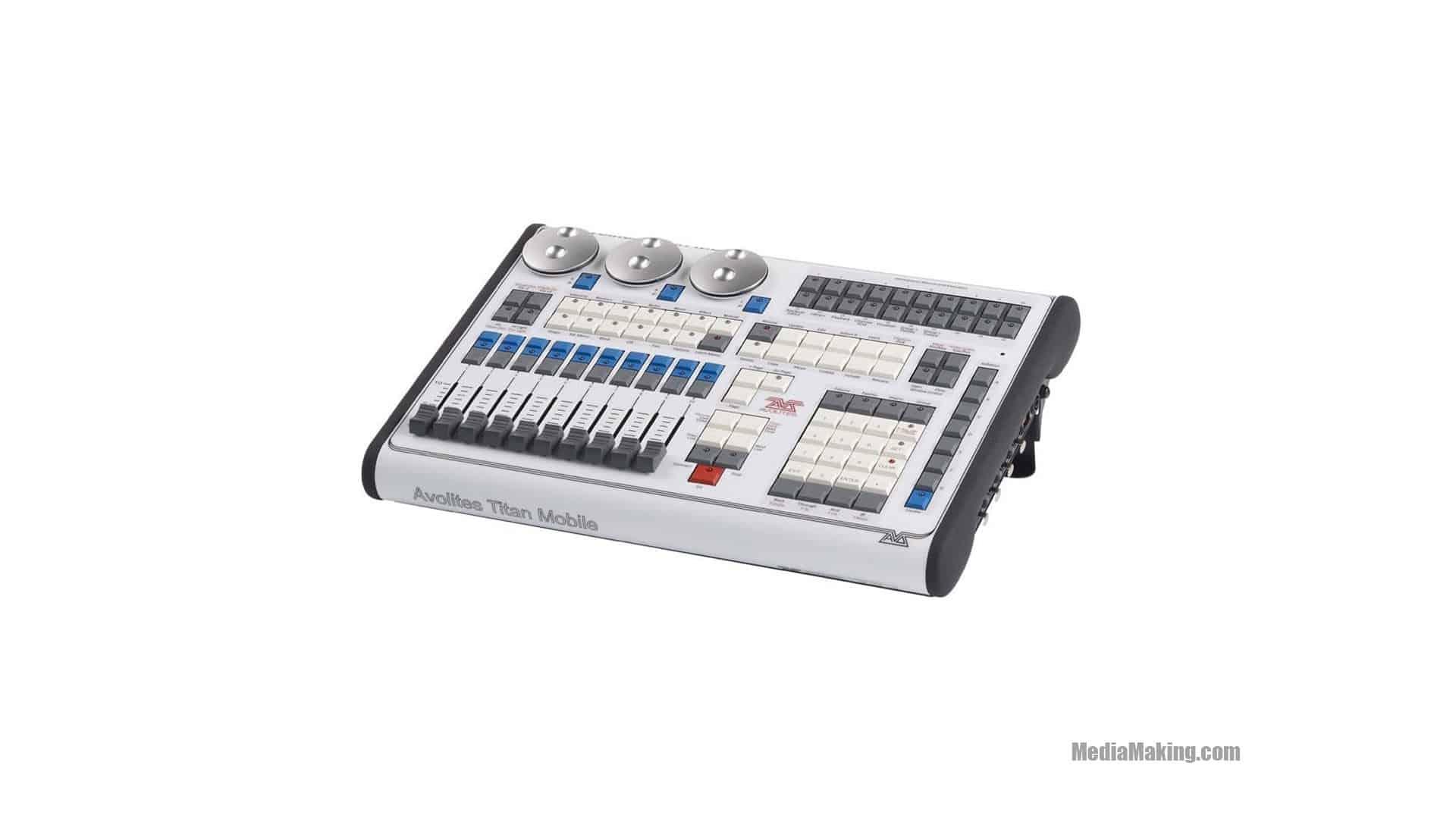 , Stage light mixer, MediaMaking